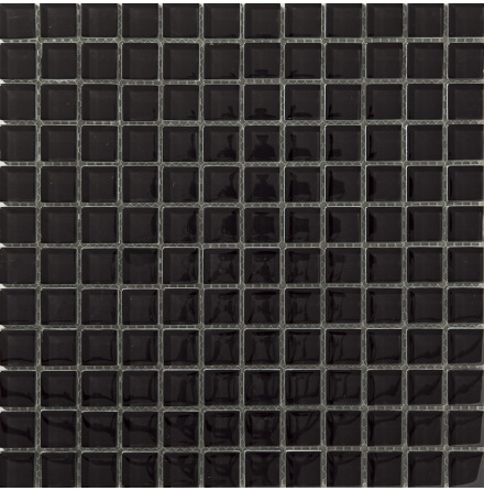 T157 Svart Blank 23x23mm