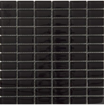 T157 Svart Blank 23x48mm