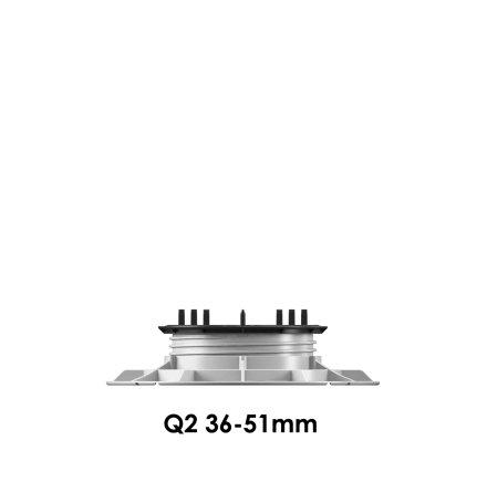 Klinkerdäcksfot 36-51mm