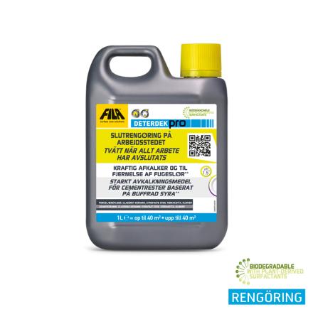 Deterdek 1 Liter Golv rengörning / kalkborttaga