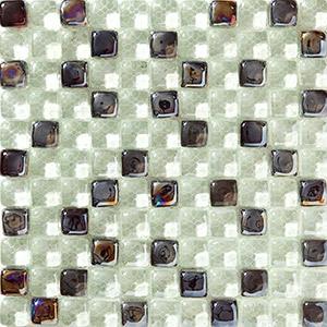 Ice Garden Tjock glasmosaik
